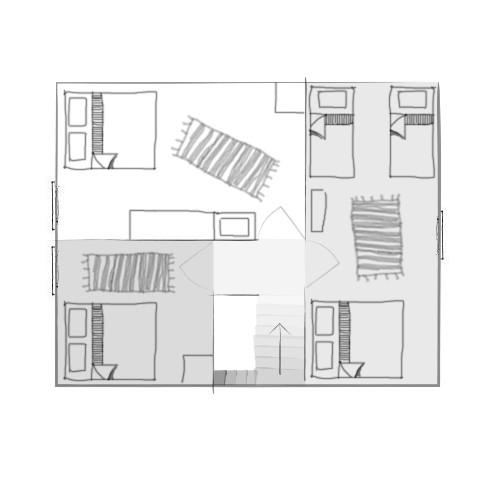 Suure maja 2. korruse plaan