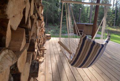 spithami seltskonna puhkemaja saunaga metsamaja